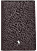 Montblanc Mont Blanc Men's Sartorial Business Card Holder Leather Wallet