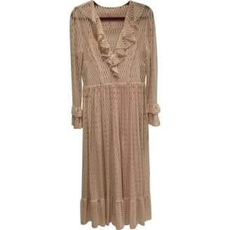Philosophy di Lorenzo Serafini Pink Lace Dress for Women