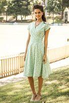 Shabby Apple Bass Strait Wrap Dress
