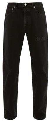Helmut Lang Masc High-rise Slim-leg Jeans - Mens - Black