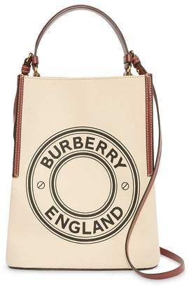 Burberry small Penny logo tote bag