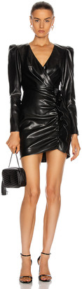 Jonathan Simkhai Catalina Mini Dress in Black | FWRD