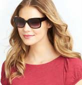 LOFT Marbled Square Sunglasses