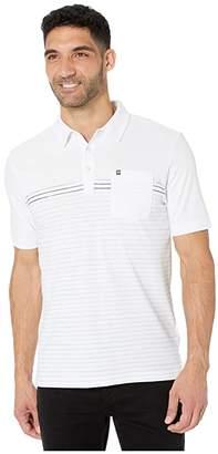 Travis Mathew Travismathew TravisMathew Deep End Polo (White) Men's Clothing
