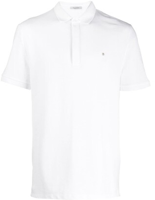 Valentino Rockstud Applique Polo Shirt