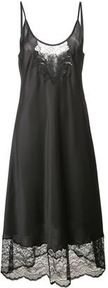 Paco Rabanne Spaghetti Straps Midi Dress