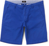 Hugo Boss - Slim-fit Stretch-cotton Twill Shorts