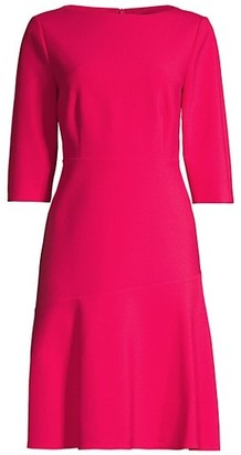 HUGO BOSS Dasty Fit-&-Flare Dress