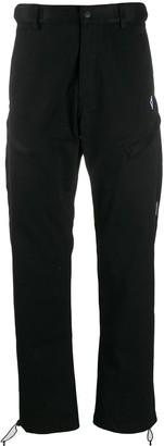 Marcelo Burlon County of Milan Cross zipped trousers