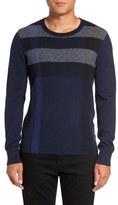 Burberry 'Feldon' Cotton & Cashmere Sweater