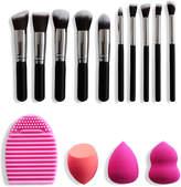 Facebase 14Pc Travel Set With Makeup Blenders & Brush Cleaner