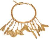 Chloé Keira Gold-plated Charm Bracelet - one size