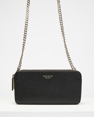 Kate Spade Women's Black Purses - Margaux Double Zip Mini - Size One Size at The Iconic