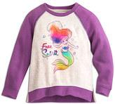 Disney Ariel Raglan Sleeve Sweatshirt for Kids