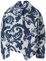 Vivienne Westwood asymmetric fastening oversized jacket