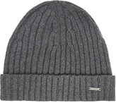 Hugo Boss T-benzo Ribbed Cashmere-wool Beanie