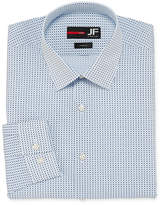 Jf J.Ferrar Easy-Care Solid Long Sleeve Broadcloth Geometric Dress Shirt - Big & Tall