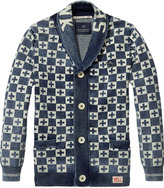 Scotch & Soda Indigo Cardigan