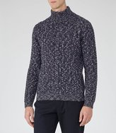 Reiss Anton Funnel Neck Flecked Jumper