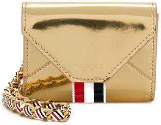 Thom Browne Specchio Leather Note Cardholder