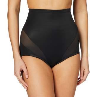 Naomi & Nicole Women's Culotte Gainante Taille Haute Noire-Cooling Waist Shapewear