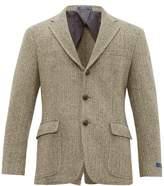 Polo Ralph Lauren - Herringbone Wool Blend Blazer - Mens - Black