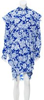 MSGM Printed Silk Dress w/ Tags