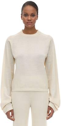 Carcel Uni-tee Round Neck Alpaca Knit Sweater