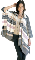 Goddis Vibrant Suki Poncho In Winter Twig