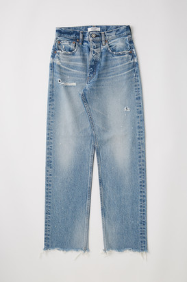 Moussy Lomita Wide Straight Jeans