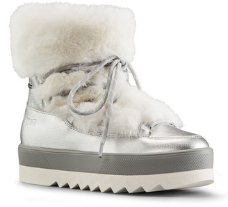 Cougar Vanity Polar Plush Leather Winter Booties