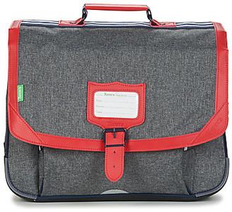 Tann's MAX CARTABLE 38CM boys's Briefcase in Grey