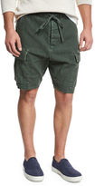 Vince Drop-Rise Military Cargo Shorts