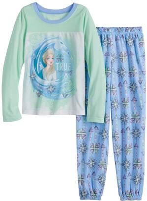 Disney Disney's Frozen 2 Girls 4-8 Elsa Snow 2-Piece Top & Bottoms Pajama Set
