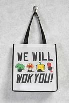 Forever 21 FOREVER 21+ We Will Wok You Eco Tote
