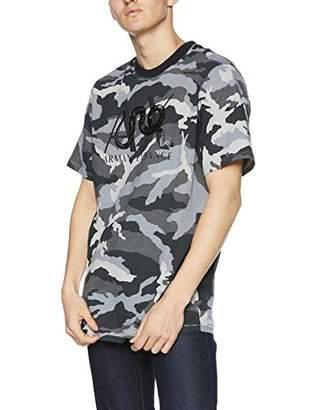 Armani Exchange A|X Men's Short Sleeve Camoflauge T-Shirt