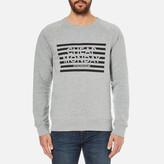 Cheap Monday Men's Rules Striped Logo Sweatshirt
