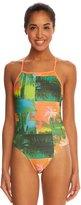 Speedo Palms Printed One Back Swimsuit 8138494