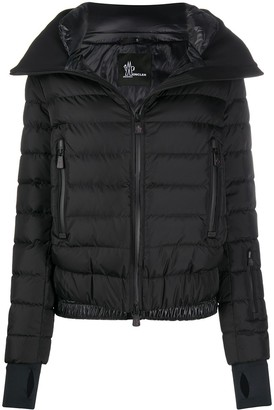 MONCLER GRENOBLE Funnel Neck Quilted Down Jacket