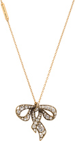 Marc Jacobs Charms Bow Necklace