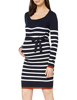 Mama Licious Mamalicious Women's MLKENNA Nell L/S Knit ABK Dress NF,L