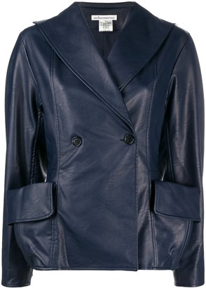 Stefano Mortari Oversized Pocket Button-Up Jacket