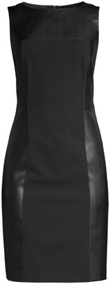 Piazza Sempione Sleeveless Sheath Dress