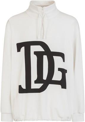 Dolce & Gabbana print drawstring sweatshirt