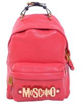 Moschino Leather Backpack