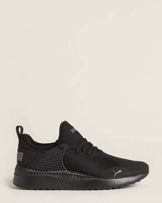 Puma Black Pacer Next Cage Mesh Low-Top Sneakers