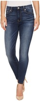7 For All Mankind High Waist Ankle Skinny in Iron Cove Women's Jeans
