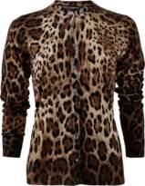 Dolce & Gabbana Leopard Cardigan