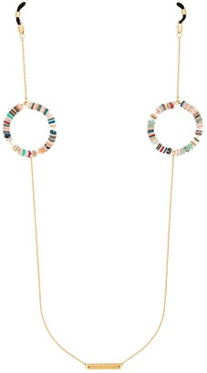 Frame Chain gold-plated Candy Pop multi hoop sunglasses chain
