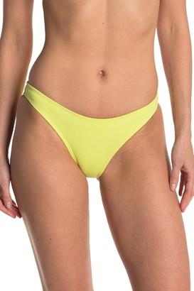 Bikini Lab Solid French Bikini Bottoms
